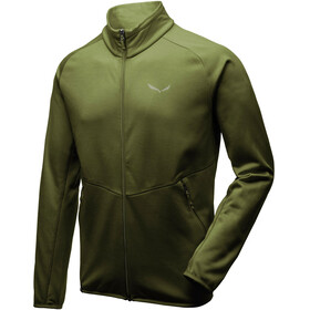 Salewa Puez Melange PL Full-Zip Midlayer-Fleece Men capulet olive